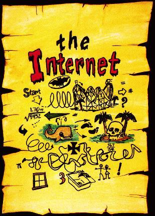 Mapa do Tesouro da Internet